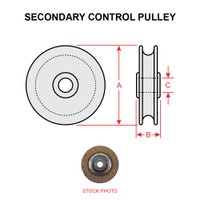 MS20219-2   SECONDARY CONTROL PULLEY