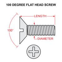 MS24693S274   FLAT HEAD SCREW