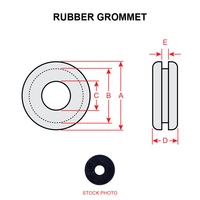 MS35489-23   RUBBER GROMMET