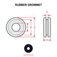 MS35489-6   RUBBER GROMMET
