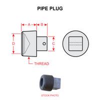 MS20913-1   PIPE PLUG