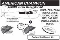 VG5054   MICRO VORTEX GENERATOR KIT - CITABRIA, SCOUT