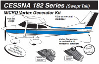 VG5060   MICRO VORTEX GENERATOR KIT - CESSNA 182