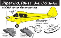 VG5092   MICRO VORTEX GENERATOR KIT - PIPER CUB