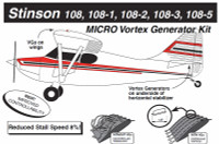 VG5072   MICRO VORTEX GENERATOR KIT - STINSON 108 SERIES