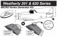 VG5041   MICRO VORTEX GENERATOR KIT - WEATHERLY 201