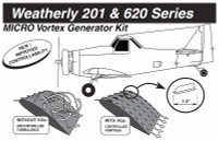 VG5042   MICRO VORTEX GENERATOR KIT - WEATHERLY 620