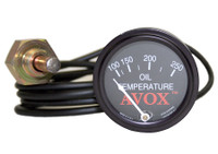 13340-00   AVOX OIL TEMPERATURE GAUGE
