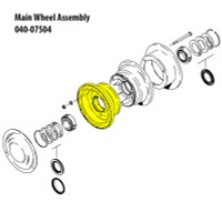 162-02700   CLEVELAND OUTER WHEEL HALF ASSEMBLY