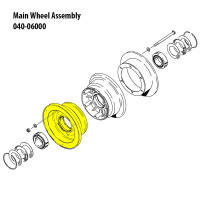 162-06500   CLEVELAND OUTER WHEEL HALF ASSEMBLY