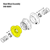 162-06501   CLEVELAND OUTER WHEEL HALF ASSEMBLY
