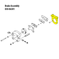 075-03700   CLEVELAND TORQUE PLATE ASSEMBLY