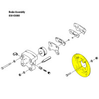 075-12100   CLEVELAND TORQUE PLATE ASSEMBLY
