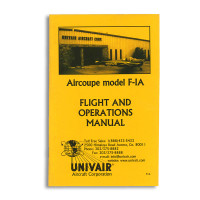 F1A   FORNEY F-1A FLIGHT AND OPERATIONS MANUAL