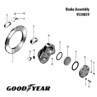 9530839   GOODYEAR BRAKE ASSEMBLY