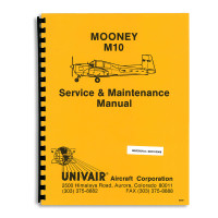 MSM   MOONEY M-10 SERVICE MANUAL