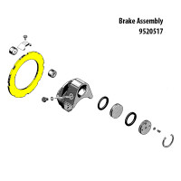 9530286   GOODYEAR PLATED BRAKE DISC