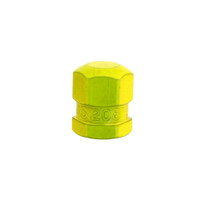 637   VALVE CAP (YELLOW METAL)