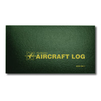 ASA-SA-1   STANDARD AIRCRAFT LOG - SOFT COVER