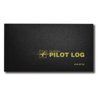 ASA-SP-30   STANDARD PILOT LOG - BLACK