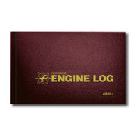 ASA-SE-2   STANDARD ENGINE LOG - HARD COVER