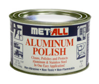MET-ALL   ALUMINUM POLISH - 1 LB CAN