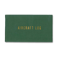 P0002   AIRCRAFT LOGBOOK - HARD COVER