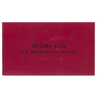 P0005   ENGINE LOGBOOK - SOFT COVER