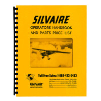 L8WM   SILVAIRE OPERATORS HANDBOOK AND PARTS PRICE LIST