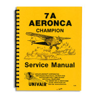 7ASM   AERONCA 7AC SERVICE MANUAL