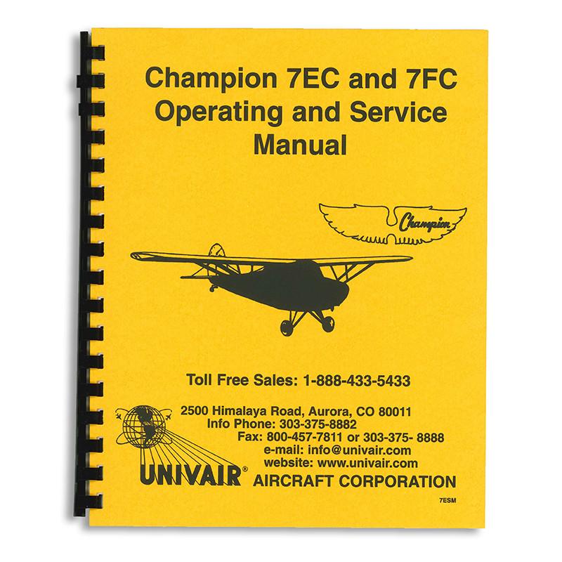 7ESM AERONCA 7EC/FC SERVICE MANUAL - Univair Aircraft Corporation