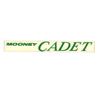 -150054-000   MOONEY CADET DECAL