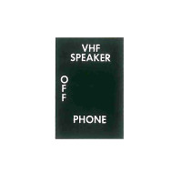 -150059-017   MOONEY VHF SPEAKER/PHONE SWITCH DECAL