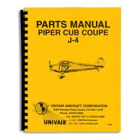 J4PM   PIPER J-4 PARTS MANUAL