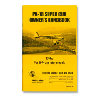 18WM150-74   PIPER PA-18 150HP OWNERS MANUAL, 1974 AND LATER