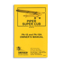 18WM150   PIPER PA-18 150HP OWNERS MANUAL, PRE 1974
