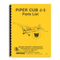 J3PM   PIPER J-3 PARTS MANUAL