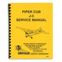 J3SM   PIPER J-3 SERVICE MANUAL