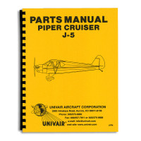 J5PM   PIPER J-5 PARTS MANUAL