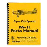 11PM   PIPER PA-11 PARTS MANUAL