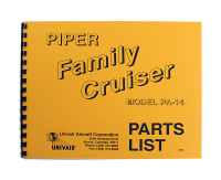 14PM   PIPER PA-14 PARTS MANUAL