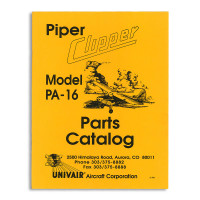 16PM   PIPER PA-16 PARTS MANUAL