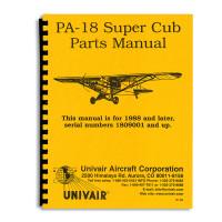 -761-823   PIPER PA-18 PARTS MANUAL
