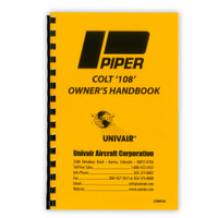 22WM108   PIPER PA-22 108HP OWNERS MANUAL