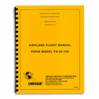 22FM108   PIPER PA-22 108HP FLIGHT MANUAL