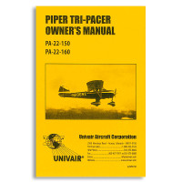 manuals videos manuals piper piper pa 22 page 1 univair rh univair com Photo of PA 22 Floats Piper PA 22-108 Tail Wheel