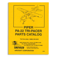 22PM   PIPER PA-22 PARTS MANUAL