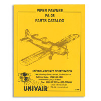 25PM   PIPER PA-25 PARTS MANUAL