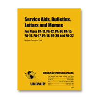 PBLPA   PIPER PA-SERIES SERVICE AIDS, BULLETINS, LETTERS AND MEMOS