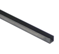 X121272   STEEL U CHANNEL - 1/2 INCH x 6 FT